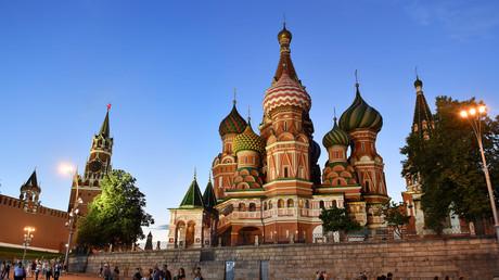 Der Kreml am Roten Platz in Moskau