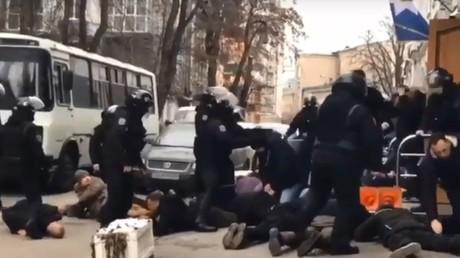 Internet-Flashmob in der Führungsriege der ukrainischen Polizei: