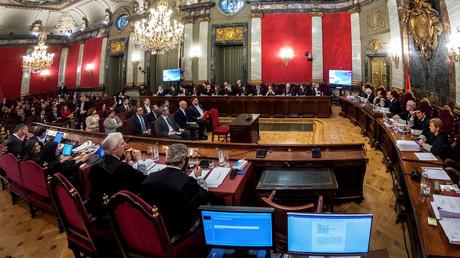 Madrid: Prozessbeginn gegen katalanische Separatistenführer