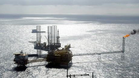 Symbolbild: Gas- und Ölförderanlage des Total-Konzerns in Nigeria