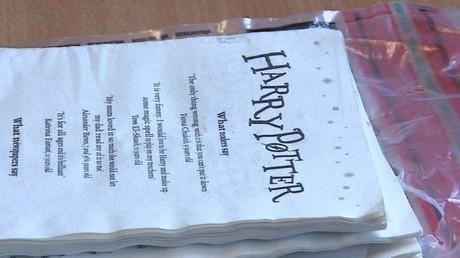 Häftlinge  schmuggeln Rauschgift in Harry Potter-Buch