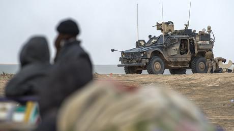 US-Spezialeinheiten in Syrien im Februar 2019
