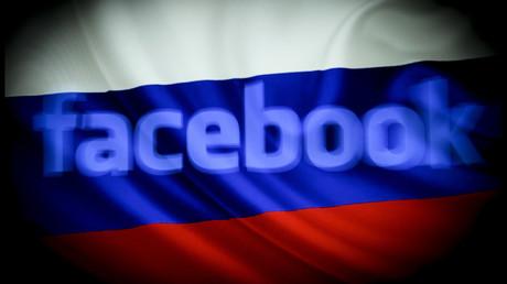Aktiv gegen Moskau: Facebook sperrte Seiten eines Medienunternehmens, weil es von Russland finanziert wird.