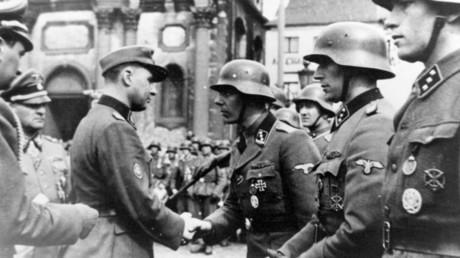 Freiwillige der belgischen Waffen-SS.