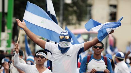 Die USA unterstützen die Anti-Regierungs-Proteste in Nicaragua.