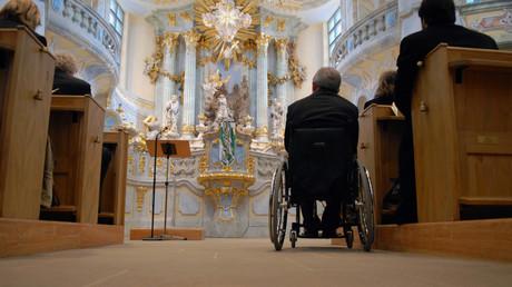 Der ehemalige Innenminister Wolfgang Schäuble betont Muslime seien Teil Deutschlands, aber in einem Land mit christlichen Werten. Bild:  Frauenkirche Dresden, 2007.
