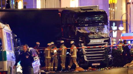Mit diesem Lkw verübte Anis Amri das Attentat auf dem Berliner Breitscheidplatz.