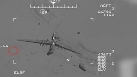 Screenshot vom Drohnen-Video, veröffentlicht von FARS NEWS.