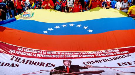 Für viele Menschen in Venezuela steht fest, dass der US-Präsident ein