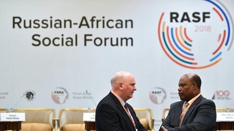 Im Oktober 2018 fand in Moskau das Öffentliche Forum Russland-Afrika statt.