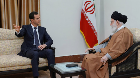Zum ersten Mal seit Kriegsausbruch: Syriens Präsident Assad besucht den Iran
