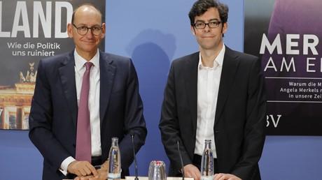 Daniel Stelter (links), marktradikaler Ökonom und Autor des Sachbuchs