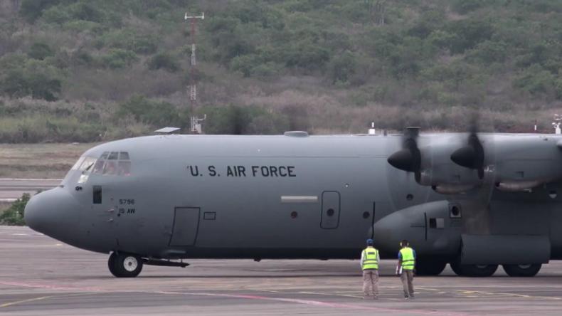 """Kolumbien: Weitere """"US-Hilfe für Venezuela"""" in Grenzstadt Cúcuta angekommen"""