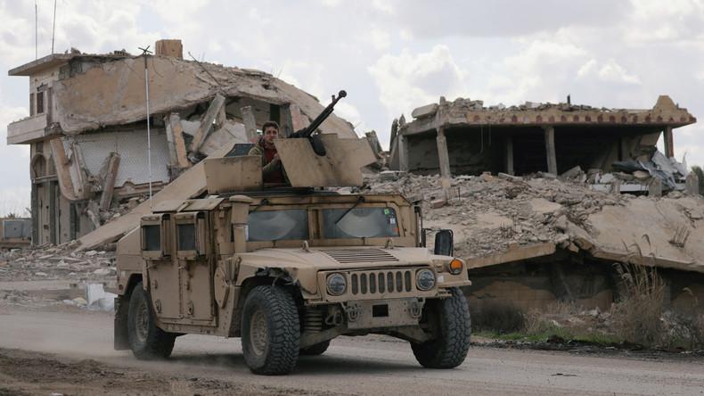 US-geführte Koalition: Französisches IS-Mitglied in Syrien getötet