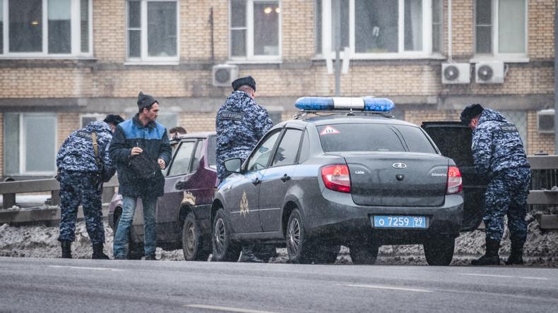 Mord- und Terroranschläge auf Polizisten geplant: Russlands Polizei hebt IS-Schläferzelle aus