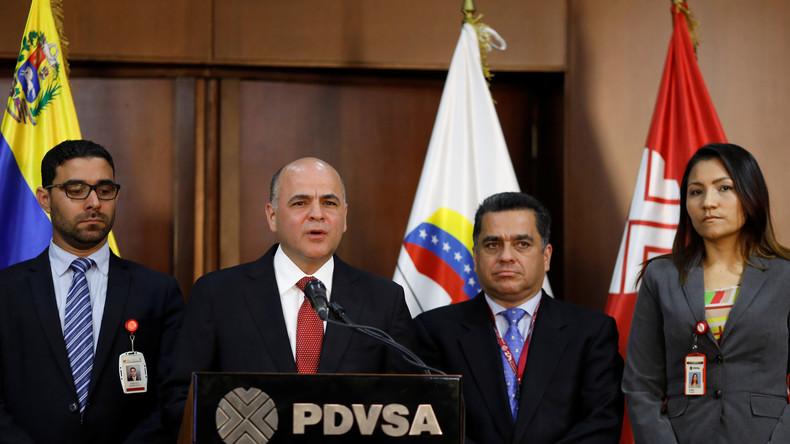 Maduro verlegt europäische Zentrale der venezolanischen Ölgesellschaft PDVSA nach Moskau