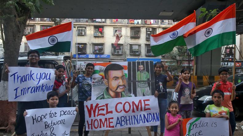 Nach Abschuss indischer Kampfflugzeuge: Pakistan lässt Piloten frei