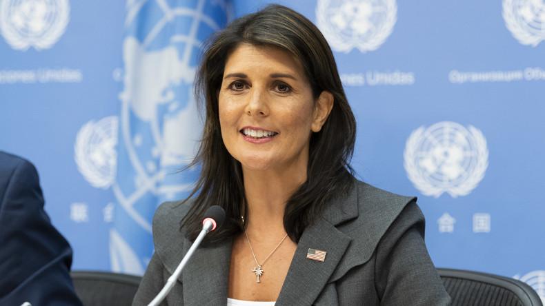 Klassischer Drehtür-Effekt: Ex-UN-Botschafterin Haley ist nicht die Erste