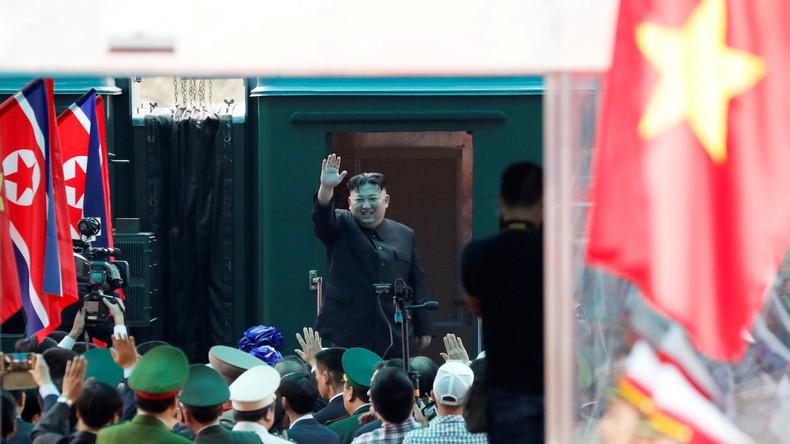 Der Kluge reist im Zuge – Kim Jong-un verlässt Vietnam im gepanzerten Zug