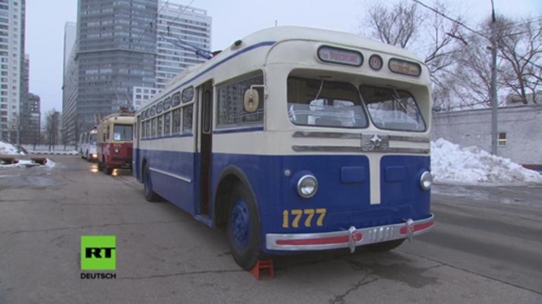 Moskau streitet: Haben die legendären Oberleitungs-Busse noch eine Zukunft?