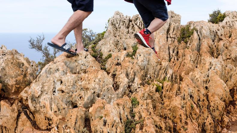 Nationalpark in Italien verhängt Flipflop-Verbot bei Wanderungen