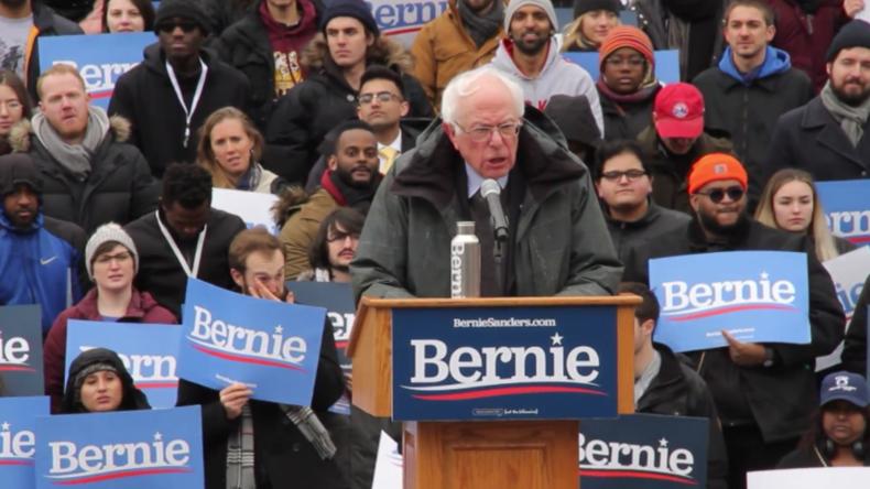"""""""Trump gefährlichster Präsident der US-Geschichte"""" - Bernie Sanders beginnt Wahlkampf"""