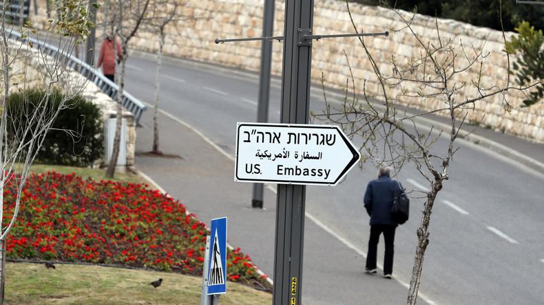 USA fusionieren Botschaft und Konsulat in Jerusalem