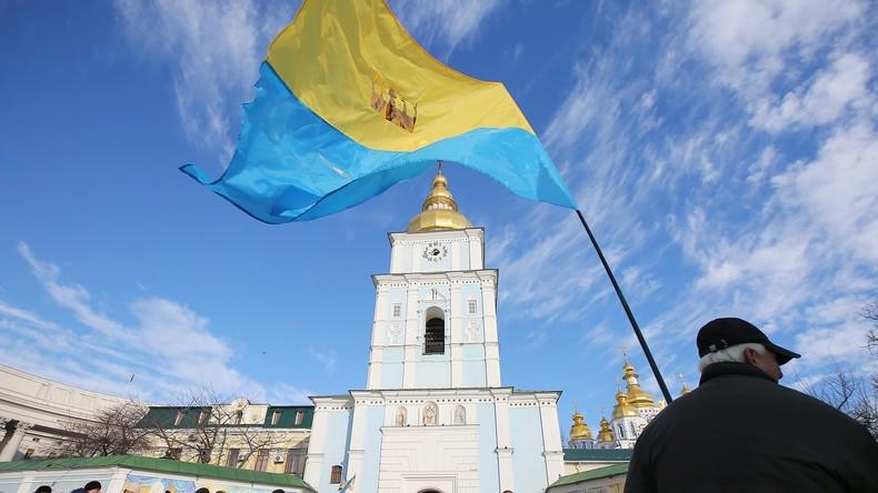 Ukraine: Bürgermeister besucht Kundgebung gegen sich selbst - niemand erkennt ihn