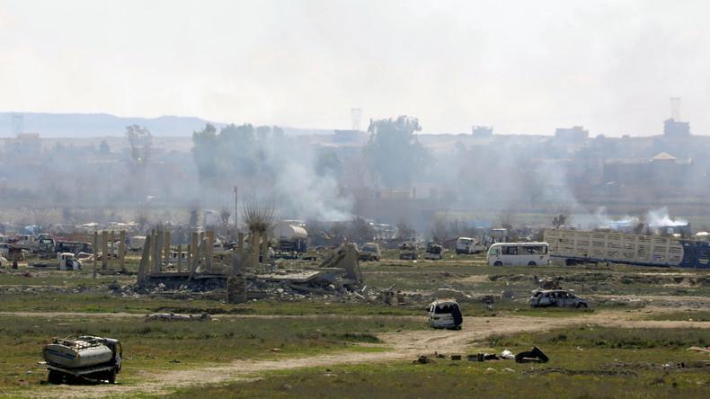 Kampf um letzte IS-Bastion Baghus: Mehr als 150 IS-Kämpfer ergeben sich