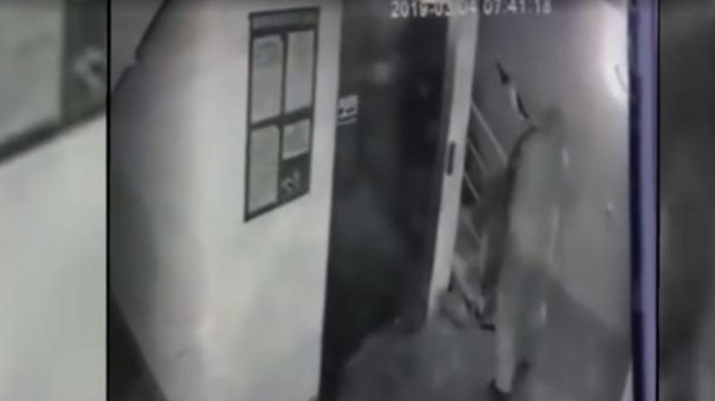 Überwachungskamera filmt Mord an stellvertretendem Direktor eines russischen Energieunternehmens