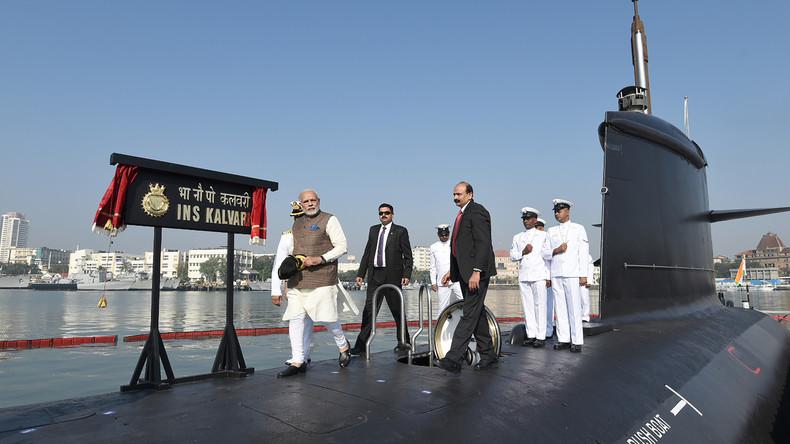 Pakistan: Indisches U-Boot wollte in Seegebiet eindringen