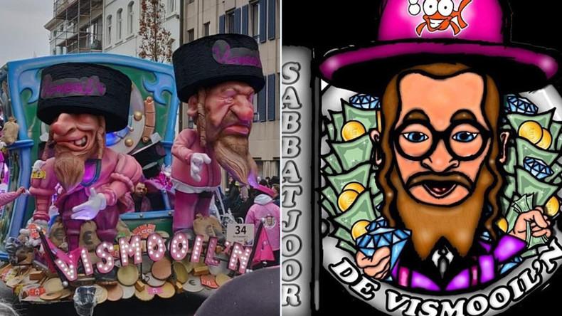 Hakennasen und Geldsäcke: Karneval in Belgien verstört mit antisemitischen Stereotypen