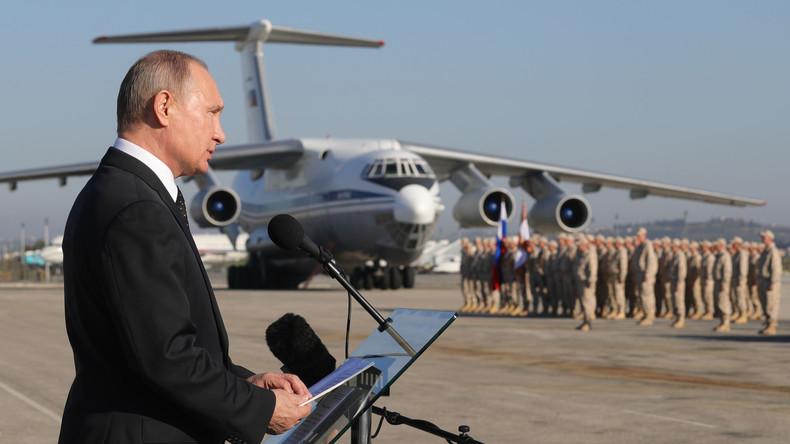 """Interview: Russland hat """"langjährige Erfahrung"""" mit USA und war auf Kehrtwende in Syrien vorbereitet"""