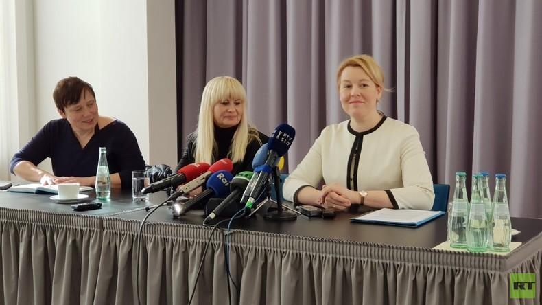 Ministerin Giffey über ein Platzen der GroKo, Ambitionen und Plagiatsvorwürfe (Video)