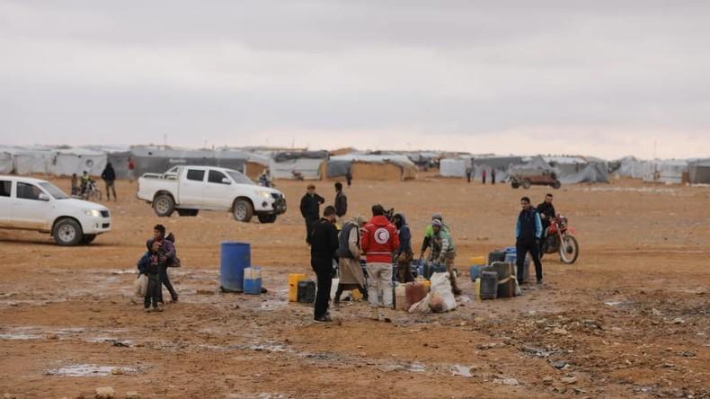 Russisches Verteidigungsministerium: 300 frische Gräber bei syrischem Flüchtlingslager Rukban