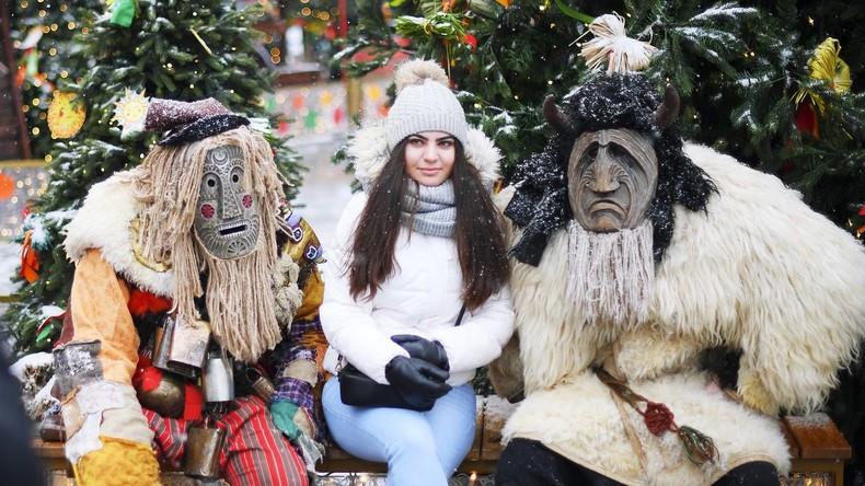 Maslenitsa: Beginn der Butterwoche in Moskau