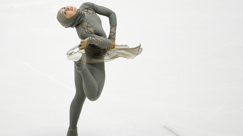 Russland: Erste Eiskunstläuferin im Hidschab tritt bei Universiade auf