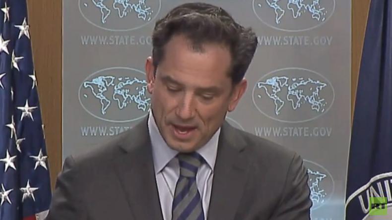 Thema Venezuela: AP-Journalist bringt Sprecher des US-Außenministeriums aus der Fassung (Video)