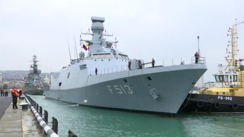 Russland: Türkische Kriegsschiffe besuchen Noworossijsk im Rahmen von Manöver