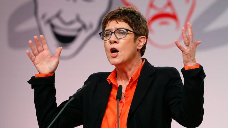"""""""Das ist doch alles ein Wahnsinn"""" - Kramp-Karrenbauer wettert gegen politische Korrektheit"""