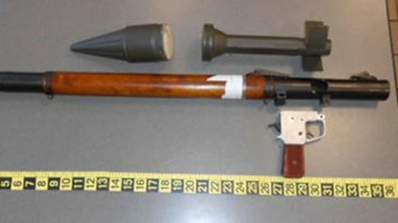 Granatwerfer im Handgepäck: US-Bürger wollte Militärwaffe mit an Bord bringen