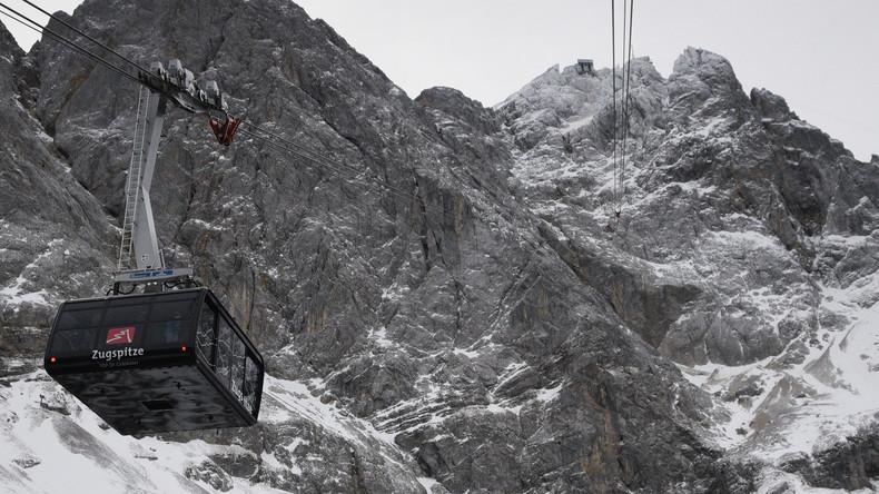 Nach Stromausfall: Dutzende aus Tiroler Zugspitzbahn gerettet