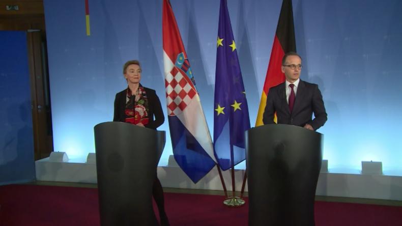 Auch nach Abschiebung des deutschen Botschafters: Maas unterstützt Guaidó weiterhin