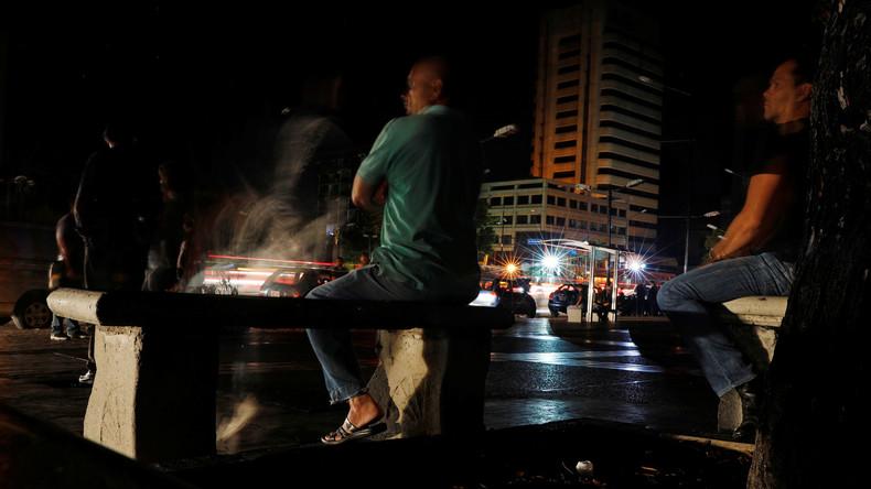 Stromausfall in Venezuela: Behörden sprechen von Sabotage