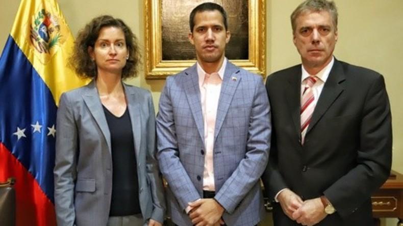 Deutscher Botschafter kann es nicht lassen: Vor dem Heimflug erneutes Treffen mit Guaidó