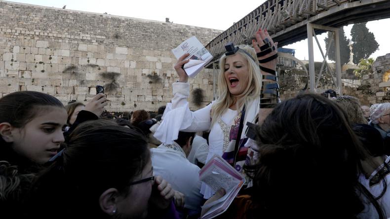 Proteste an der Klagemauer gegen Gebete von Frauengruppe