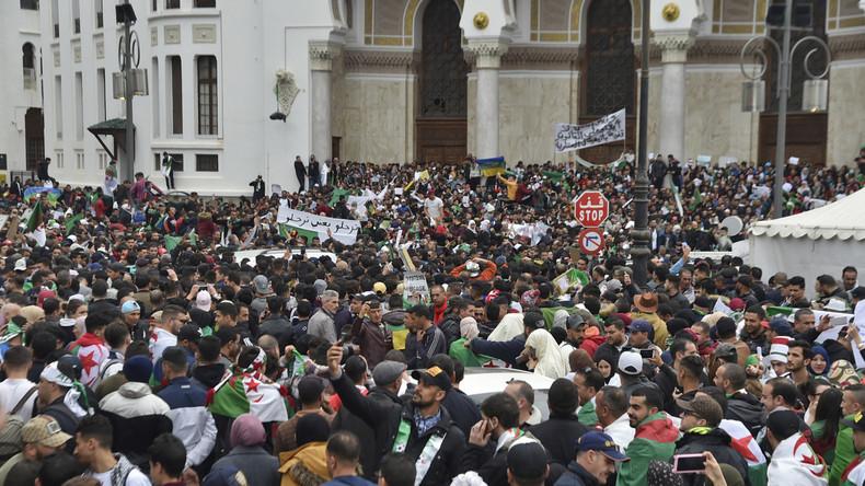 Tausende folgen Protestaufruf in Algerien - Großes Polizeiaufgebot