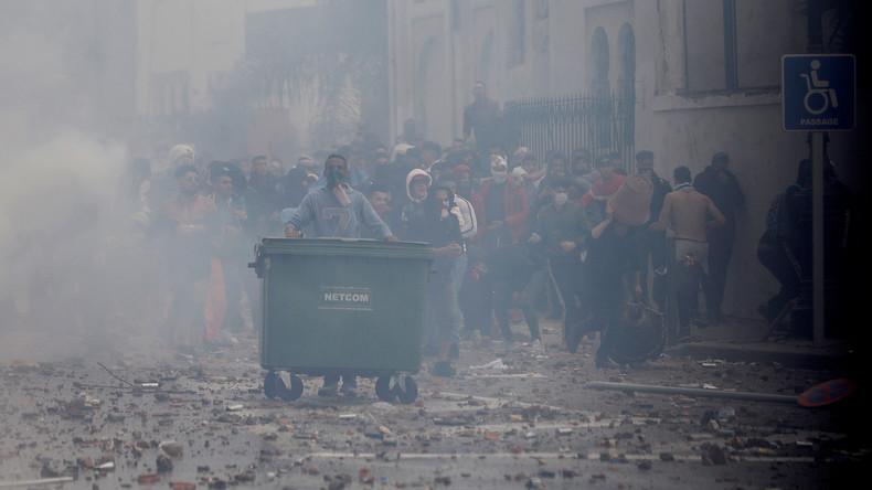 Proteste in Algerien: 112 verletzte Polizisten, 195 Festnahmen