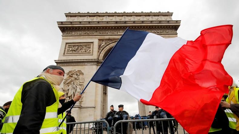 LIVE: Gelbwesten protestieren in der 17. Woche in Folge in Paris