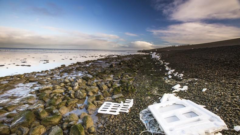 Niederländische Forscher ermitteln Millionen von Plastikteilchen an Stränden nach Container-Havarie